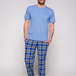 Мъжка пижама в син цвят 2199