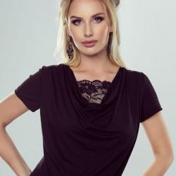 Черна дамска блуза Hoppe