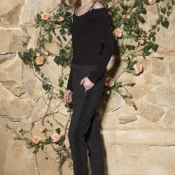 Дамски панталон в черно Bella