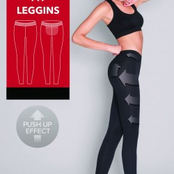 Моделиращ дамски клин в черен цвят