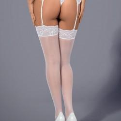Бели 7/8 чорапи Etheria