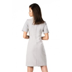 Ежедневна рокля Minar в сив цвят