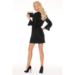 Елегантна мини рокля в черен цвят Aniali