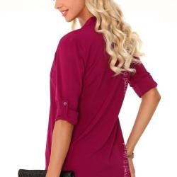 Дамска риза в лилав цвят Blandinea