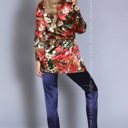 Сатенена пижама от две части Frida