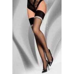 Дамски дълги чорапи в черно Gawrila 20 DEN