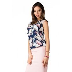 Елегантна блуза Pavlinna в тъмносин цвят