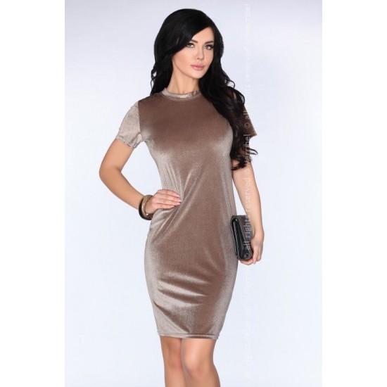 Елегантна миди рокля Teresian