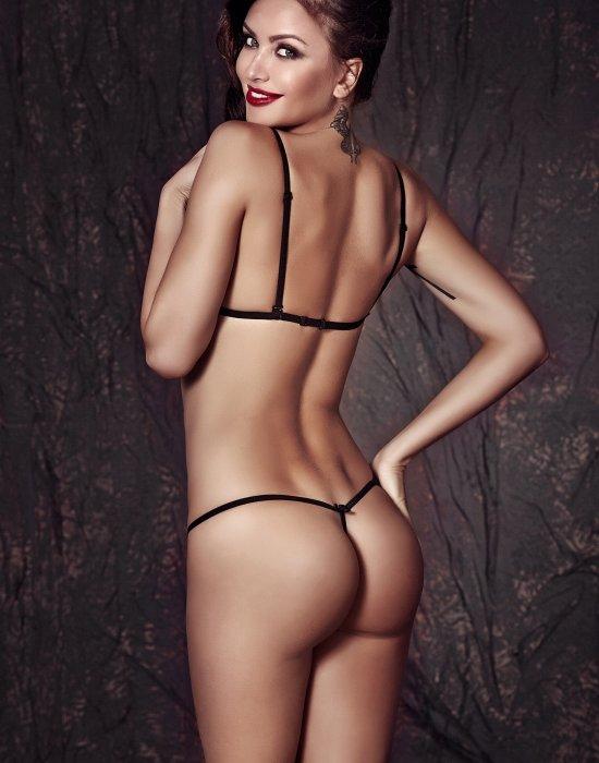 Секси сутиен с праши в черен цвят Clover, Anais, Комплекти - Modavel.com