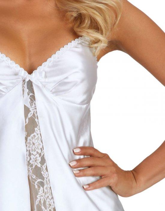 Сатенена нощница и прашки Alexandra, Beauty Night Fashion, Нощници - Modavel.com