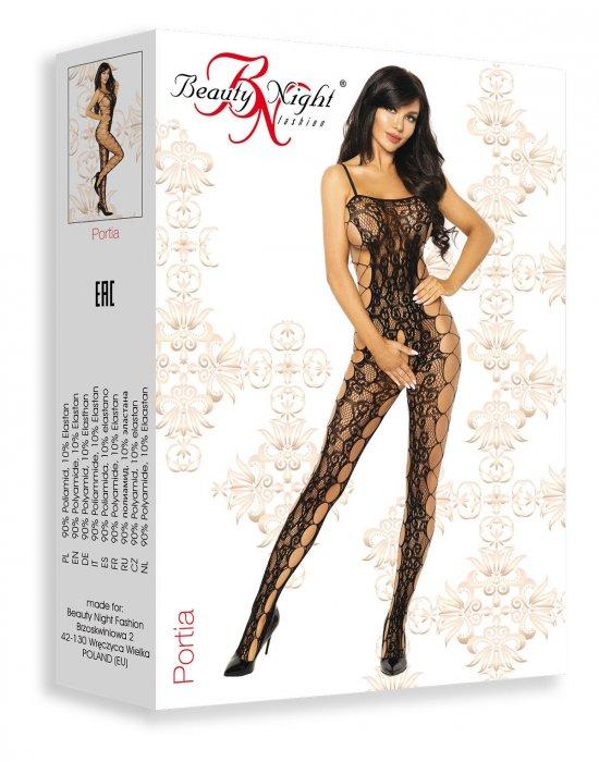 Целокупно боди Portia, Beauty Night Fashion, Целокупни бодита - Modavel.com