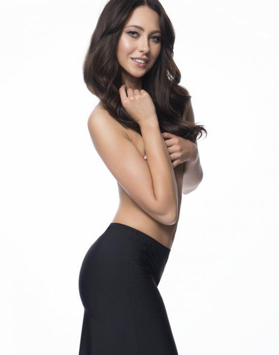 Безшевна пола в черен цвят, Julimex, Поли - Modavel.com