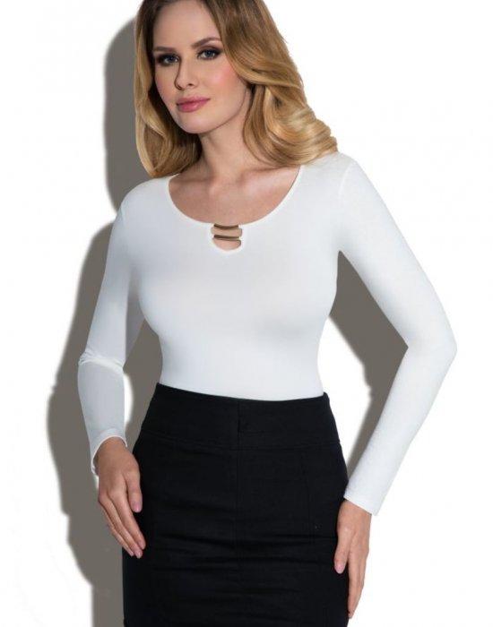 Блуза в цвят екрю Marta, Eldar, Блузи / Топове - Modavel.com