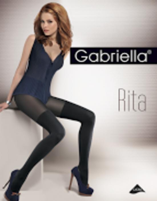 Черен чорапогащник Rita, Gabriella, Чорапогащи - Modavel.com