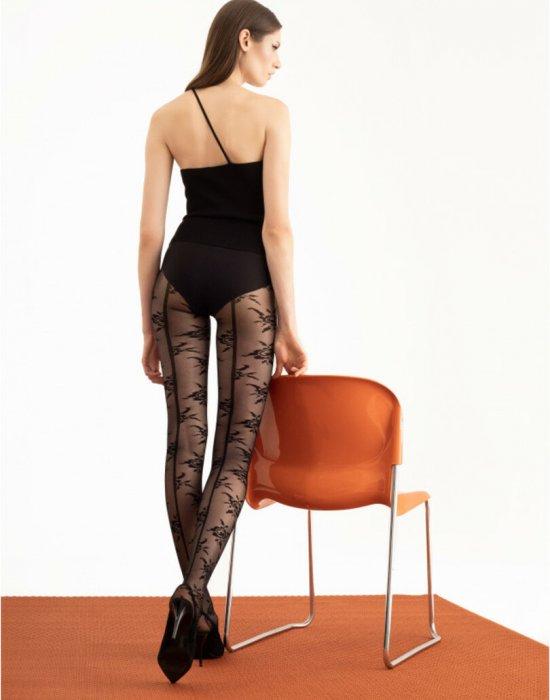 Черен чорапогащник Velvet Rose 30 DEN