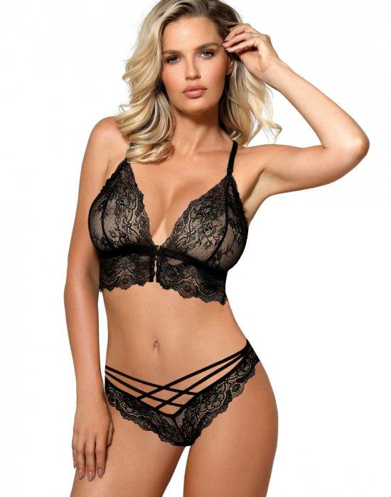 Черни секси бикини Zuza, ROZA, Бикини - Modavel.com