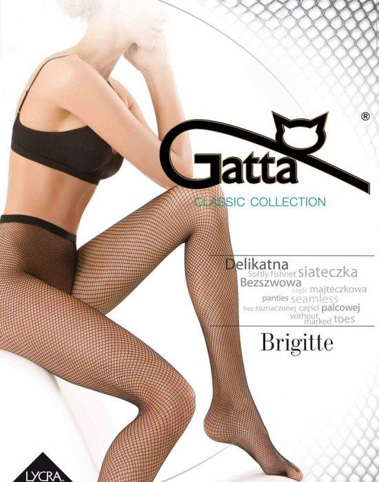 Чорапогащник на мрежа в черен цвят Brigitte Nero, Gatta, Чорапогащи - Modavel.com