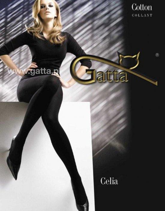 Чорапогащник в черен цвят Celia Nero, Gatta, Чорапогащи - Modavel.com
