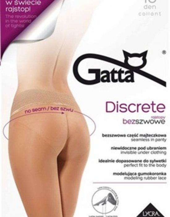 Чорапогащник в бежов цвят Discrete Beige 15 DEN, Gatta, Чорапогащи - Modavel.com