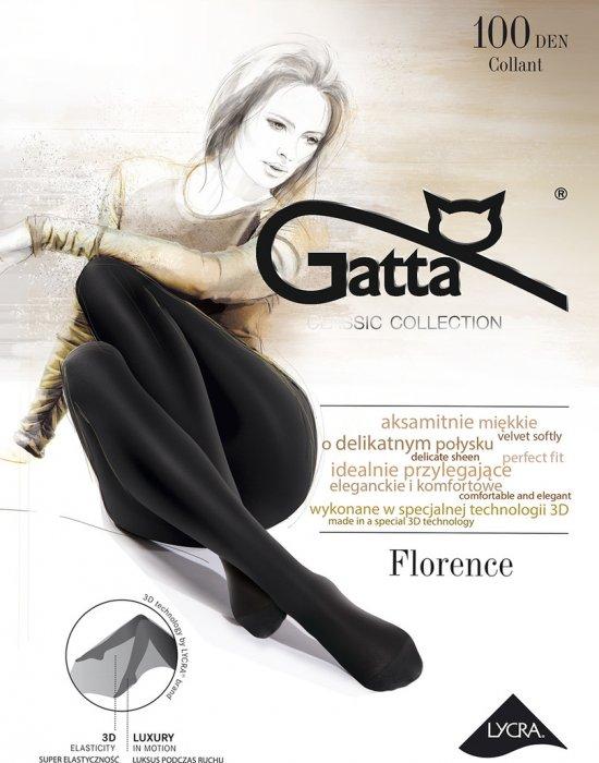 Чорапогащник в черен цвят Florence Nero 100 DEN, Gatta, Чорапогащи - Modavel.com