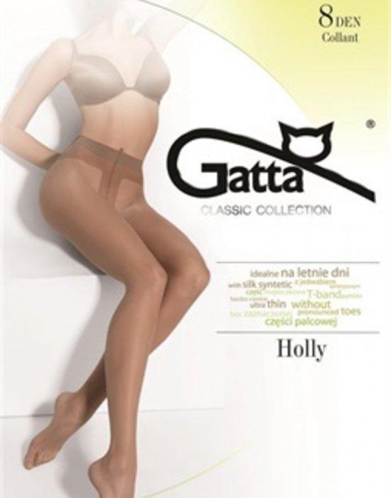 Чорапогащник в черен цвят Holly Nero 8 DEN, Gatta, Чорапогащи - Modavel.com