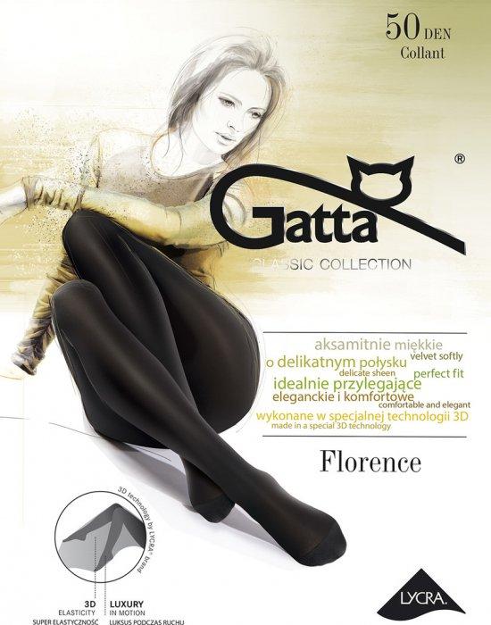 Чорапогащник в опушен цвят Florence Fumo 50 DEN, Gatta, Чорапогащи - Modavel.com