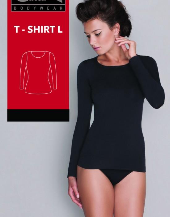 Дамска блуза с дълъг ръкав в тъмносиньо, Gatta Bodywear, Блузи / Топове - Modavel.com
