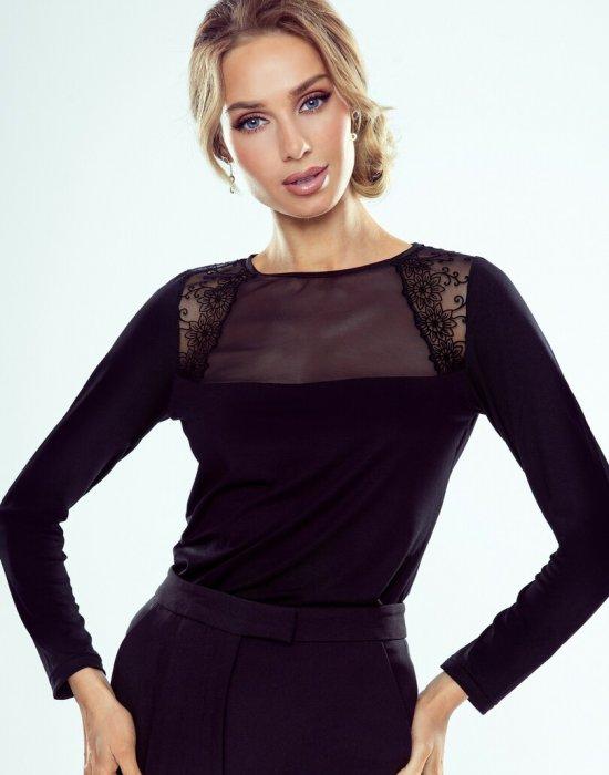 Дамска блуза в черен цвят Astrid, Eldar, Блузи / Топове - Modavel.com