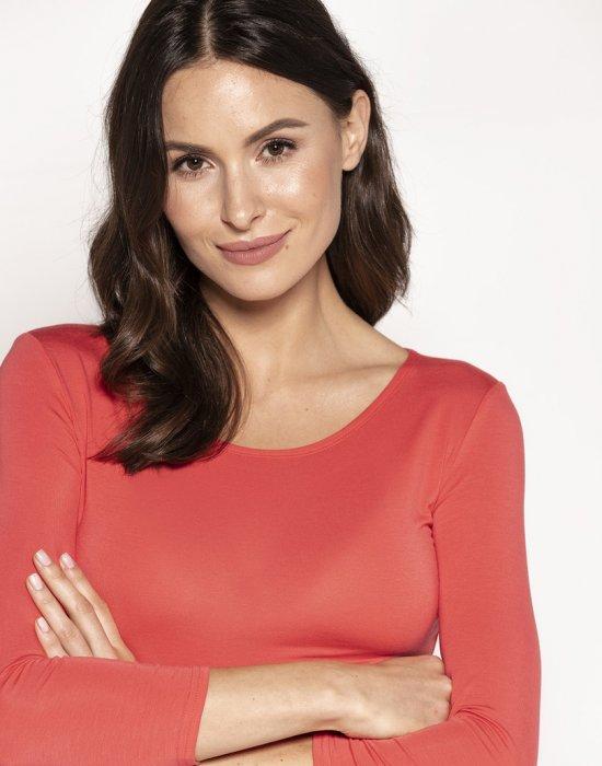 Дамска блуза в цвят папая Manati, Babell, Блузи / Топове - Modavel.com