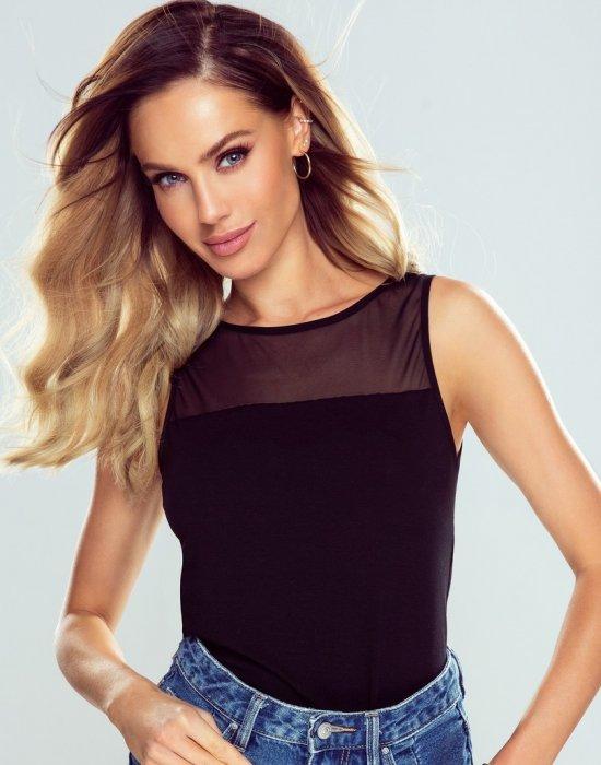 Дамски топ в черен цвят Brygida, Eldar, Блузи / Топове - Modavel.com