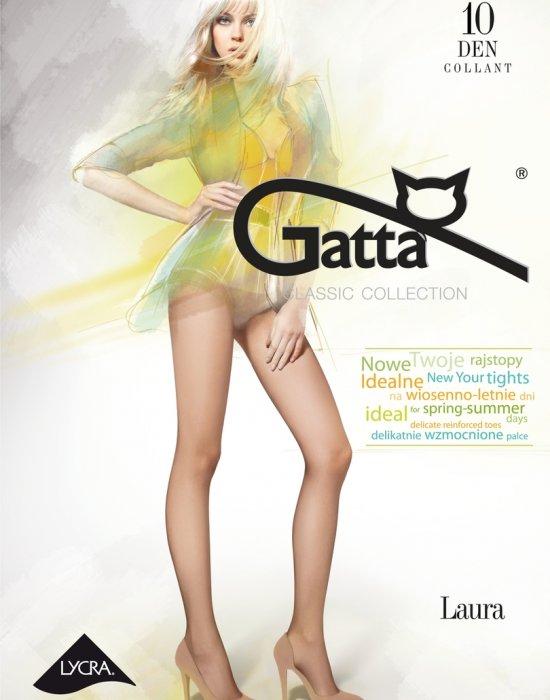 Фин чорапогащник в телесен цвят LAURA 10 DEN, Gatta, Чорапогащи - Modavel.com