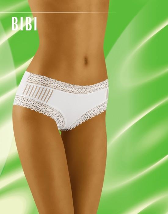 Гладки бикини в бял цвят Bibi, Wolbar, Бикини - Modavel.com