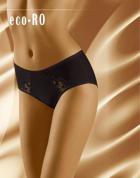 Гладки черни бикини Eco Ro, Wolbar, Бикини - Modavel.com