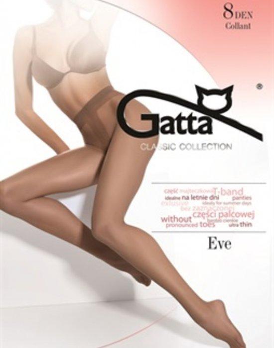 Матов чорапогащник с ликра в сиво Eve Grigio 8 DEN, Gatta, Чорапогащи - Modavel.com