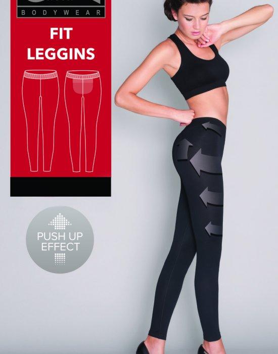 Моделиращ дамски клин в черен цвят, Gatta Bodywear, Клинове - Modavel.com