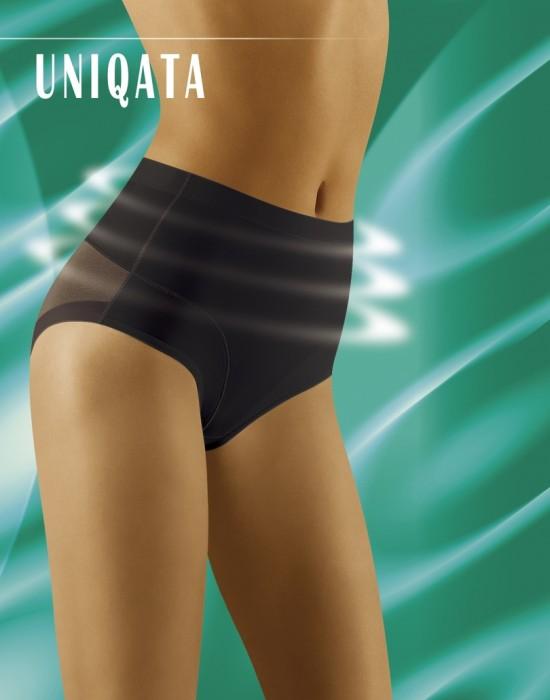 Моделиращи бикини с висока талия в черен цвят Uniqata, Wolbar, Бикини - Modavel.com
