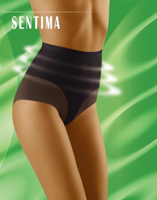 Моделиращи бикини с висока талия в бежово Sentima, Wolbar, Бикини - Modavel.com