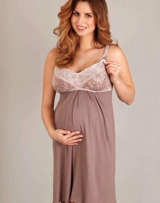 Нощница за бременни 1383, Lupoline, Нощници - Modavel.com