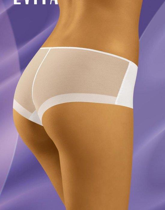 Прозрачни бикини в бял цвят Evita, Wolbar, Бикини - Modavel.com