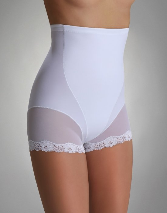 Коригиращи бикини с висока талия в бяло Violetta, Eldar, Бикини - Modavel.com