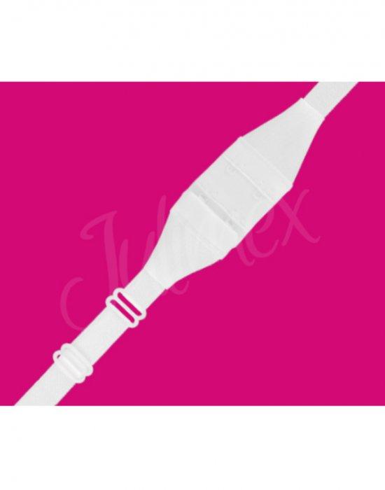 Закопчалка за изрязан гръб в бял цвят, Julimex, Еротични - Modavel.com
