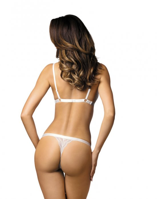 Дамски прашки в бял цвят DESIRE-S, Gorteks, Прашки - Modavel.com