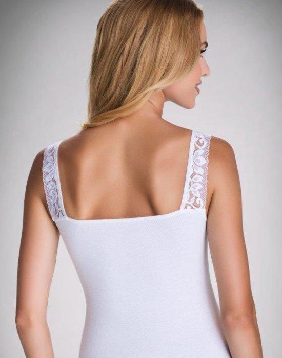 Дамски потник в бял цвят Diana, Eldar, Блузи / Топове - Modavel.com
