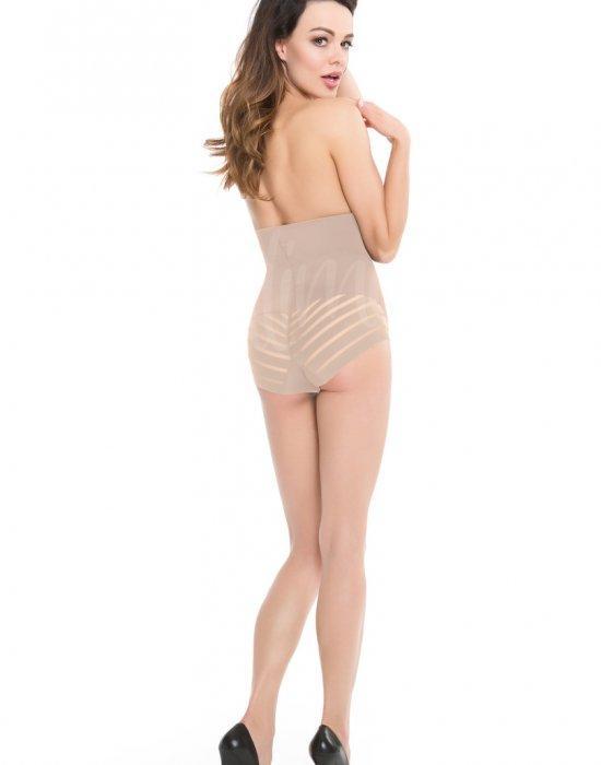 Моделиращи бикини с висока талия в черен цвят, Julimex, Моделиращо - Modavel.com