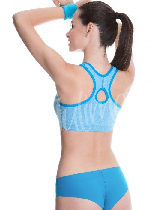 Спортно бюстие в син цвят, Julimex, Сутиени - Modavel.com