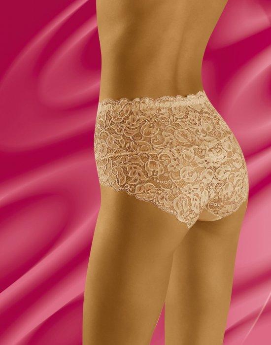 Дантелени бикини в бежов цвят Teri, Wolbar, Бикини - Modavel.com