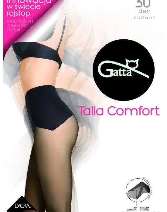 Луксозните чорапогащи в черен цвят Comfort Talia 30 DEN, Gatta, Чорапогащи - Modavel.com