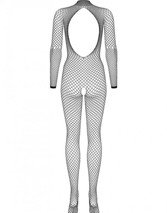Черно мрежесто боди N121, Obsessive, Целокупни бодита - Modavel.com