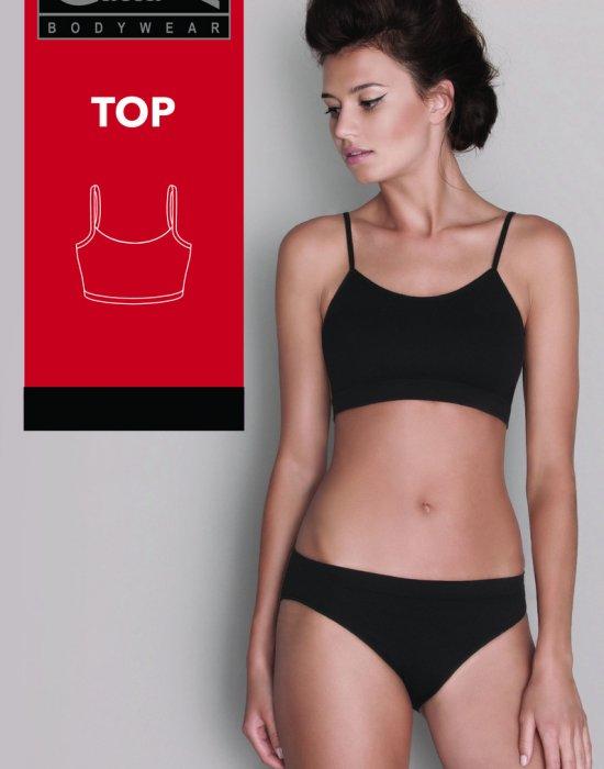 Спортно бюстие в телесен цвят, Gatta Bodywear, Сутиени - Modavel.com