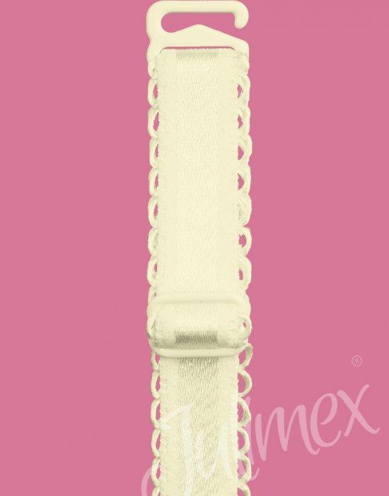 Универсална презрамка за сутиен в цвят екрю, Julimex, Еротични - Modavel.com